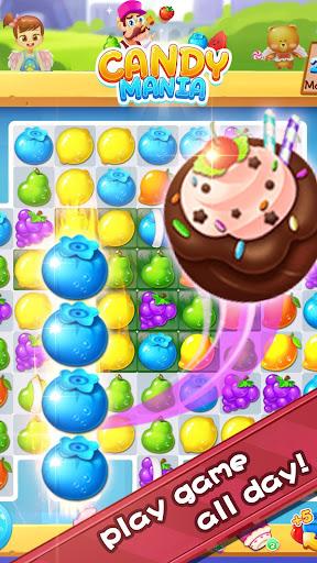 Sweet Candy Fever - New Fruit Crush Game Free 1.3.0 screenshots 3