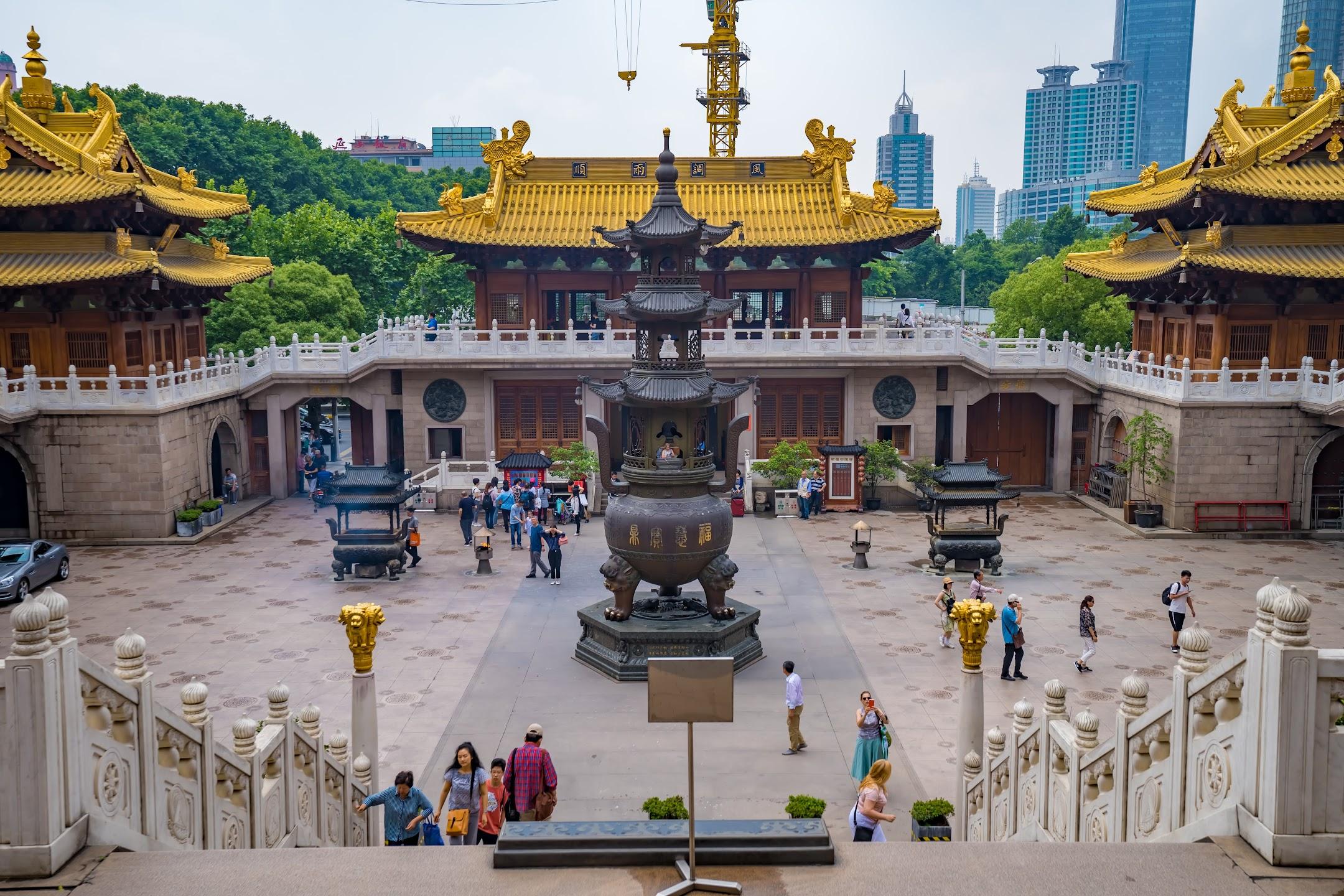 Shanghai Jing'an Temple2