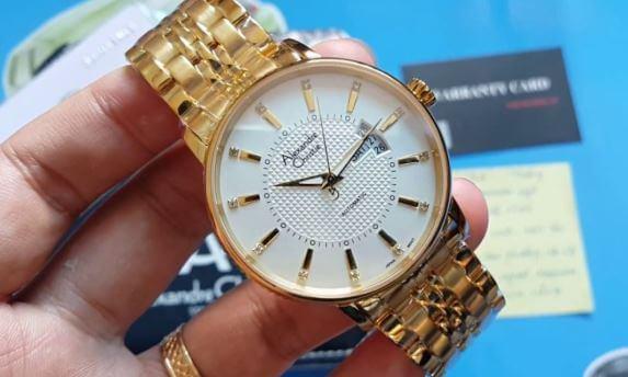 Lý do nên mua đồng hồ Alexandre chính hãng uy tín?