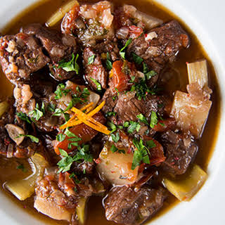 Slow Cooker Thick & Chunky Beef Stew.