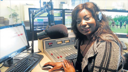 SPECIAL MOMENT: Link FM is celebrating 20 years in the airwaves in style tomorrow as they host a worship extravaganza. Presenter Lebo Makobe, who does 'Reaching Higher' every weekday, is one of the radio personalities who will be celebrating with the masses tomorrow Picture: SUPPLIED