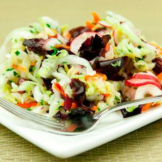 Pressed Salad with Dulse & Ume Vinegar.