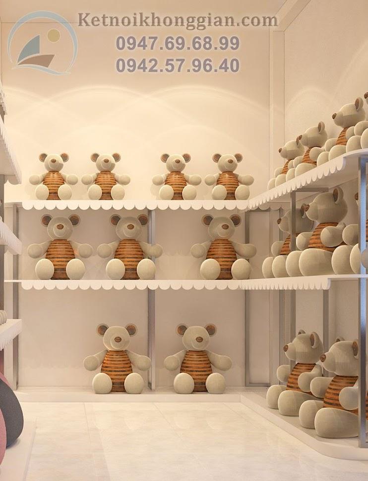thiết kế shop gấu bông hàng đầu việt nam