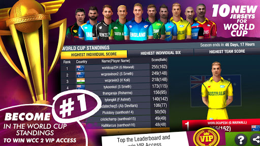 World Cricket Championship 2 - WCC2 screenshot