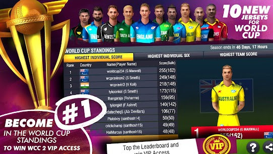 World Cricket Championship 2 Mod Apk 2.9.3 (Unlimited Money/Coins) 3