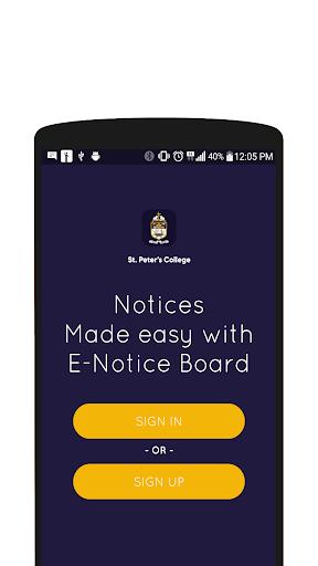 SPC E-Notice Board