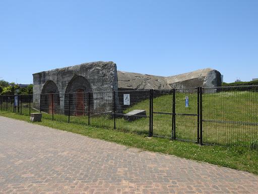 第三海堡兵舎跡