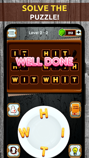 Mind Game - Word Connect Cookies Chef apkpoly screenshots 2