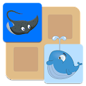 Fish Memo Match for kids  icon