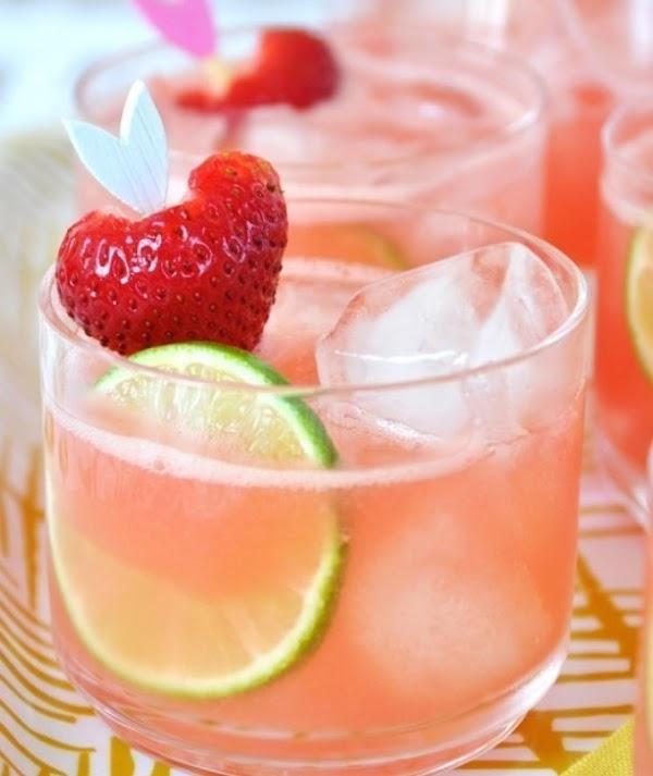 Strawberry Cooler Recipe