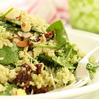 Quinoa With Spinach And Tomatoes Recipes