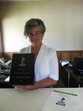 Photo: Maureen Blither of Lewis P. Blither Insurance Agency in Tyngsborough, MA, celebrating 30 years as an Accredited Business