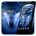 Black Cool Wolf  King Theme icon