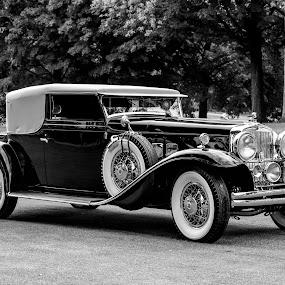 Elegance by Pat Eisenberger - Transportation Automobiles ( car, automobile, stutz, 1932, antique,  )