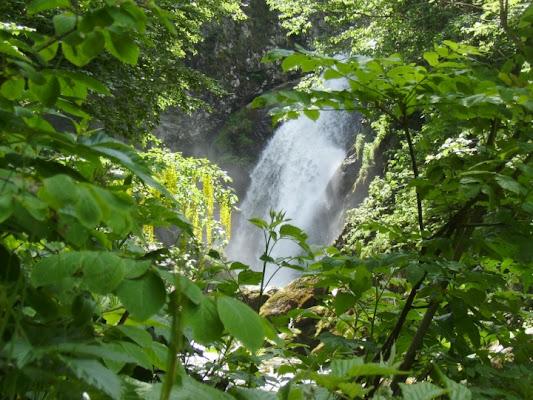 Valle Pesio  La cascata del Saut di dariom