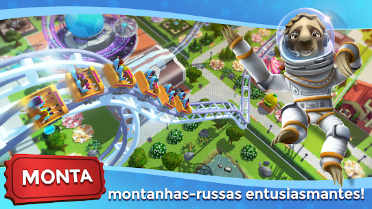 RollerCoaster Tycoon Touch Apk Mod Dinheiro Infinito 3