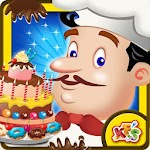 Candy Cake Maker - Bakery Chef Icon