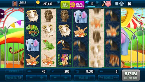 Rich Zoo Slots - Vegas Huge Jackpots Screenshot