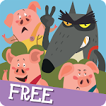 The Three Little Pigs FREE Icon