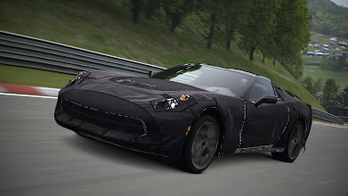 Photo: Get behind the wheel of the Corvette C7 Test Prototype, exclusively available as a free download for Gran Turismo 5. More info (and video!) here: http://oak.ctx.ly/r/1dz8