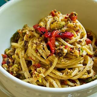 Mediterranean Olive Pesto