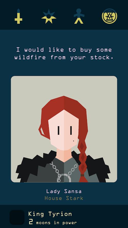 Screenshot 1 Reigns: Game of Thrones 1.0 APK MOD