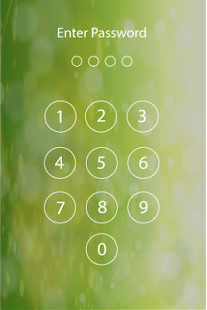 Lock screen password- screenshot thumbnail