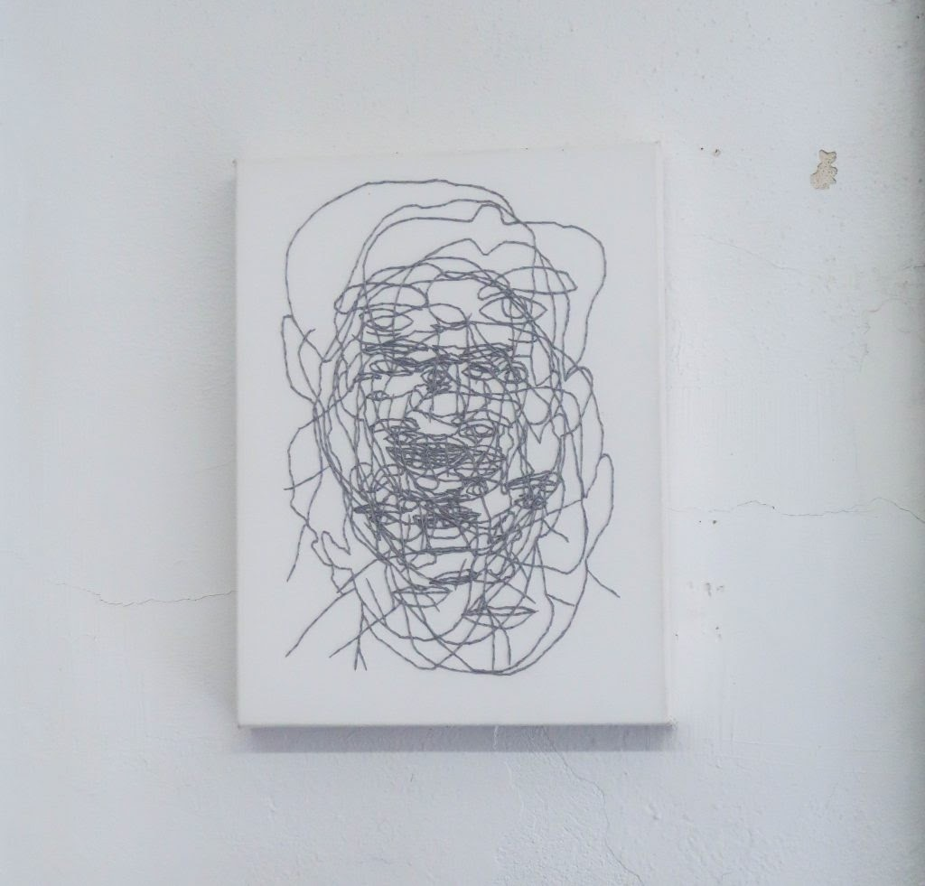Kevin Warth: Embroidery Portrait