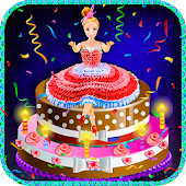 Doll Cake Maker Cooking Game