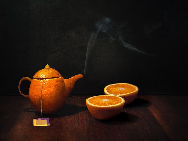 orange tea di bi