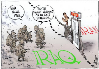 Photo: Exit Plan from IRAQ
