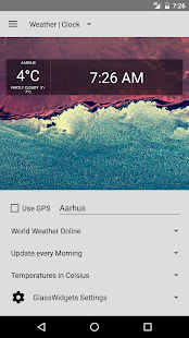 Glass Widgets- screenshot thumbnail