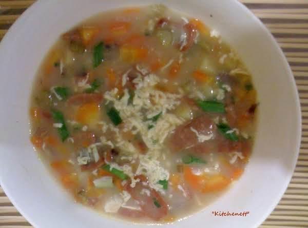 Loaded Carrot & Potato Soup