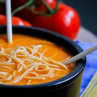 Tomato Noodle Soup.