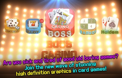 Boss Casino Poker Baccarat - náhled