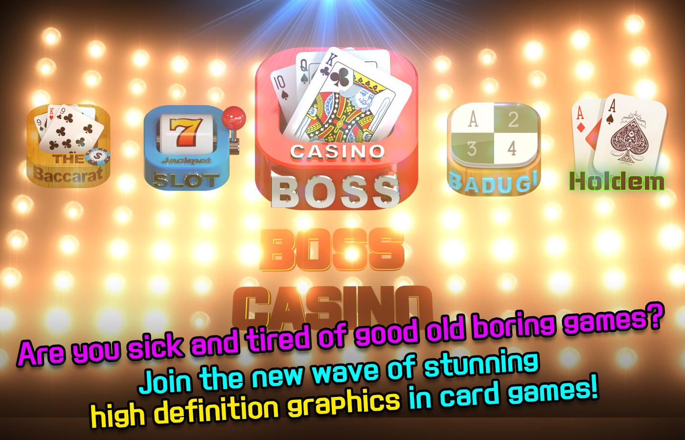 Boss Casino Poker Baccarat- screenshot