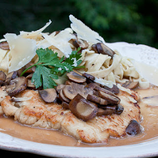 Turkey Cutlets with a Marsala and Mascarpone Sauce