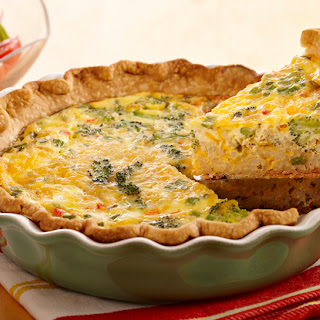 Dirty Rice Quiche.