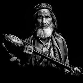Malang baba by Kamran Khan - Digital Art People ( swat photography, kami art., kami.pk photography, black and white, malang baba, digital art, digital painting, digital )