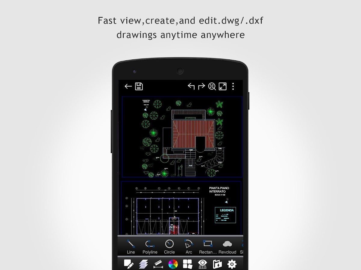 DWG FastView-CAD Viewer- screenshot