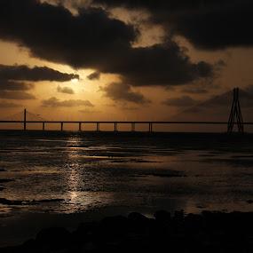 Bandra Worli Sea Link by Yash Savla - Buildings & Architecture Bridges & Suspended Structures ( mumbai, bandra worli sea link, sea link, india, bridge, mumbai architecture )