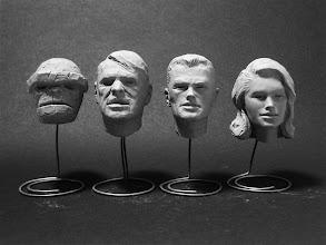 Photo: Fantastic Four Maquettes