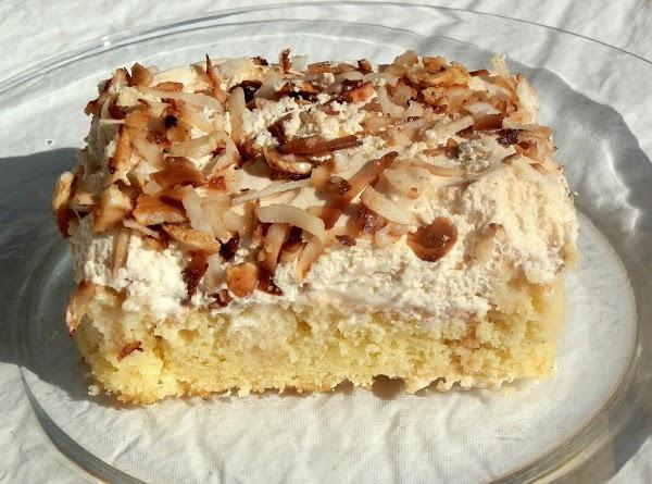 Dee's Coconut Tres Leches Cake Recipe