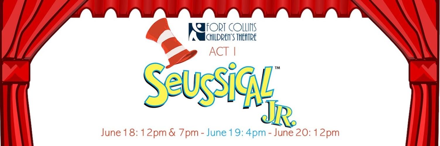 Act I Seussical, JR. - June 20 @ 12pm