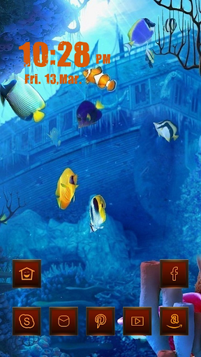 Fish in Mysterious Ocean