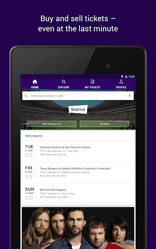 StubHub - Tickets to Sports, Concerts & Events screenshot 10