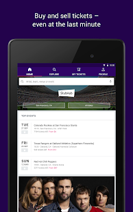 StubHub - Tickets to Sports, Concerts & Events Screenshot