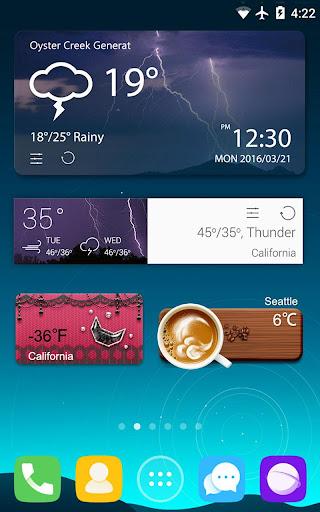 GO Weather Forecast & Widgets screenshot 16