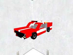Hyper Industrial Fire Truck
