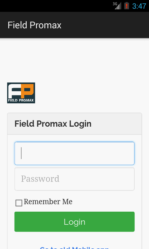 Field Promax- screenshot